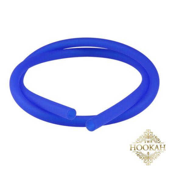 Silikonschlauch Blau Matt - THE HOOKAH