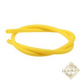 Silikonschlauch Gelb Matt - THE HOOKAH