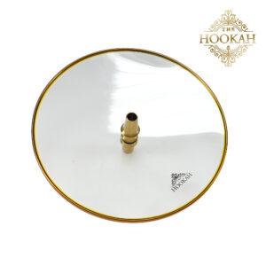 Glaskohleteller GOLD – THE HOOKAH